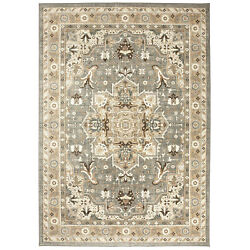 12and039 X 15and039 Karastan Machine Woven Area Rug Rhodes Ash Grey Multi Traditional