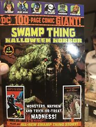 Dc 100 Page Giant Swampthing Halloween Walmart Exclusive Sold Out 2018