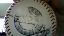 Florida Marlins Baseball Singed By 16 Team Players /the Palm Beach Post
