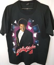 Chubby Checker 93 Never Ending Tour Tshirt Signed Szl Single Stitch 50/50 90s