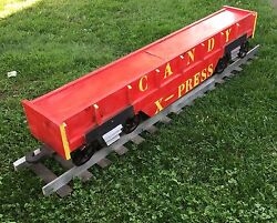 Awesome Large 3d Wooden Train Candy Express Store Advertising Sign Display