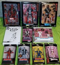 Marvel Legends Lot 12 Inch Deadpool Toys R Us Game Stop X Force 2 Pack 80 Years