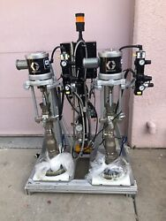 New 2 GRACO P20LCS 700 CheckMate SN A187 & A189 Liquid Control Crossover 24D621