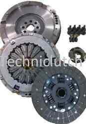 Solid Flywheel And Clutch Kit Conversion For Toyota Avensis 2.0 D4d 126 And 124