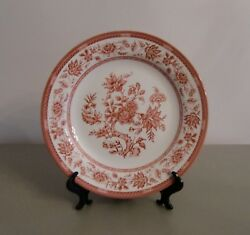 Churchill Indian Tree Pink Set Of 3 Bread And Butter Plates Pinkwhite Discontinued
