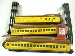 Lionel 752E 753 754 Pre War City of Denver 3 Piece Set Straight