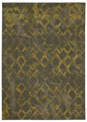 10and039 X 13and039 Karastan Machine Woven Area Rug Quartz Brushed Gold By Patina Vie