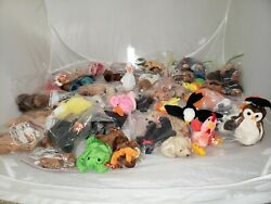 Ty Teenie Beanie Babies all with tag new 1998 rare error tags lot of 50