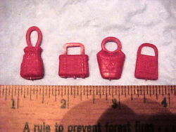 4 different MPC Teenet Girl Woman red purses $2.96