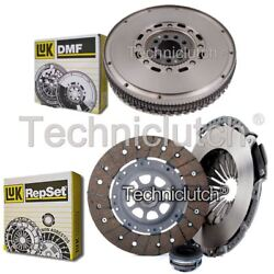 Luk 3 Part Clutch Kit And Luk Dmf For Audi Coupe Coupe 2.8