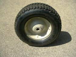 New Tire And Wheel 9.75 X 3.25 Golf Cart Utility Lawn Tractor Mower Wheel