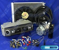 New A/c Kit Universal Under Dash Evaporator 406b 12v 14x20 Cond. And Elec. Harness