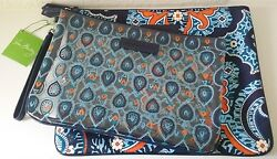 Vera Bradley Beach Pouch Set Marrakesh New With Tags $40.00