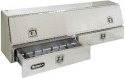 Buyers Aluminum Pro Commercial Topside Toolbox W/drawer Truck Tool Box 1705651
