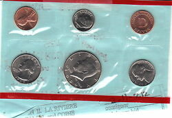 1989 Us Denver Mint Uncirculated Coin Set With Gov't Packaging