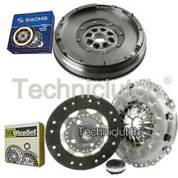 Luk 3 Part Clutch Kit And Sachs Dmf For Lancia Phedra Mpv 2.0 D Multijet