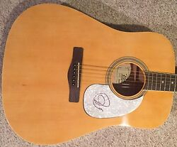 John Jon Anderson Signed Guitar Yes Autographed Guitar W Exact Proof