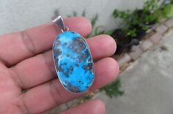 Native American Huge Natural Turquoise 17gr. Pendant