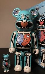 Ron English Be@rbrick Extremely Rare Signed 2007 Sdcc Exclusive Medicom