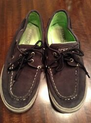 Kids Sperrys Top Sider Halyard Shoes Size 4.5