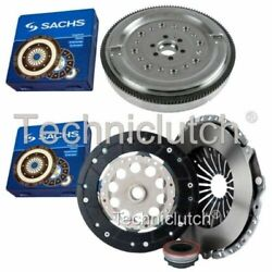 Sachs 3 Part Clutch Kit And Sachs Dmf For Audi A4 Estate 1.8 T
