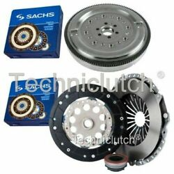 Sachs 3 Part Clutch Kit And Sachs Dmf For Audi A4 Convertible 1.8 T