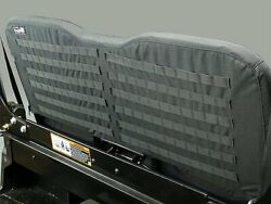 John Deere Hd Xuv Gator Front Seat Cover -black- With Molle Webbing