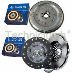 Sachs 3 Part Clutch Kit And Sachs Dmf For Audi A6 Estate 1.9 Tdi