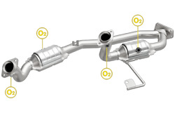 Magnaflow Catalytic Converters Combine For 2001-2003 Ford Windstar / 49624