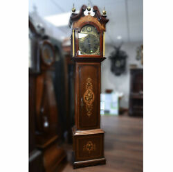 c013 English early 1900's Tall Case Grandfather Clock- Local Pickup Only