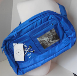 NikeLab Undercover Gyakusou Cross Shoulder Duffle Carry Bag Lightweight Blue $62.05