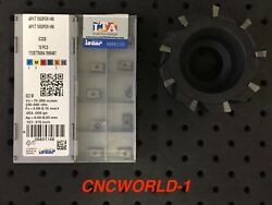 20 Pcs Iscar Apkt 1003pdr-hm Ic328 + D63 Used Milling