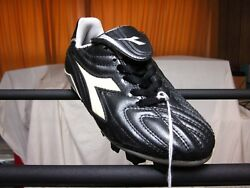 Youth Soccer Cleats Diadora Maximus Md Black/white And Various Colors Med. Dm