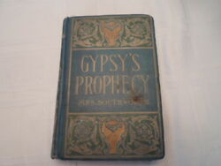 Very Rare Antique Book Gypsy's Prophecy Mrs. Southworth - Misspelled Title Pages
