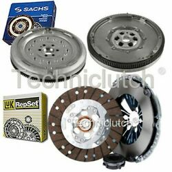 Luk 3 Part Clutch Kit And Sachs Dmf For Audi A3 Hatchback 1.6 Tdi