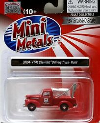 Classic Metal Works HOHOn3 194146 Chevy Wrecker Truck Mobil (30394)