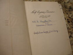 Wwii Us Navy Amphib Forces Eyewitness Accounts Diary Japanese Maps Texas Vet