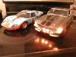 1/12 Scale Diecast Gmp 0246 Gt40 6 And 1/12 Scale Eleanor G.t. 500