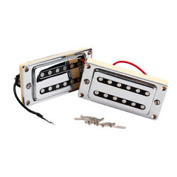 Practical 6-strings Electric Guitar Humbuckers High Output Neck And Bridge