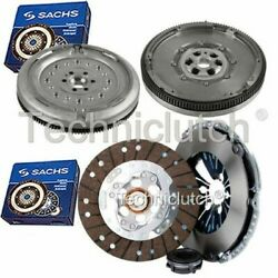 Sachs 3 Part Clutch Kit And Sachs Dmf For Audi A3 Hatchback 1.6 Tdi