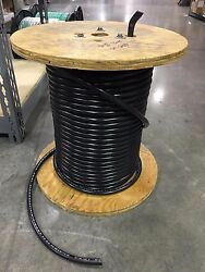 1 Awg Boat / Multirated Black Cable Sold As One Unit