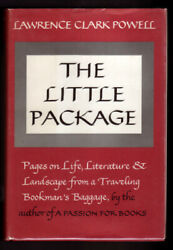 Books About Books / Little Package Pages On Literature And Landscape Signed 1st