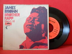 1970 James Brown Brother Rapp Part 1 And 2 7/45 Nmint Germany Rare Picture Sleeve