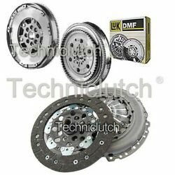 2 Part Clutch Kit And Luk Dmf With Csc For Opel Corsa C Hatchback 1.3 Cdti