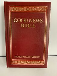 Good News Bible Today's English Version 1976 Hard Cover Thomas Nelson Publishers