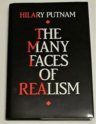 Many Faces of Realism : The Paul Carus Lectures Series16 by Hilary Putnam 1991