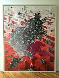 How & Nosm - Lost Fragments - Pace Editions Monoprint Original