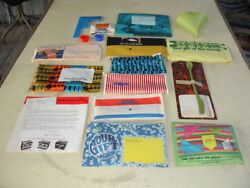 Esso Happy Motoring 1971 Promo Pkg Gift Of The Month Assortment