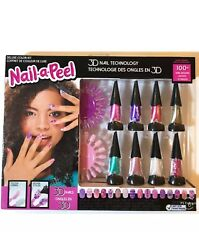 Nail-a-peel Deluxe Colour Kit 3d Nail Design Creative Toy Easter Set 3+ Years