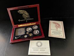 China Coins Of Invention And Discovery Empress Edition Gold And Silver Proof Set